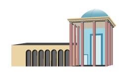 وکتور آرامگاه سعدی