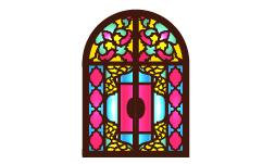 وکتور پنجره سنتی