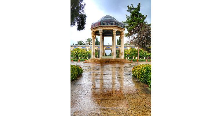 دانلود عکس آرامگاه حافظ