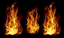 20 طرح براش آتش