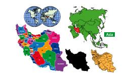 وکتور نقشه ایران 1