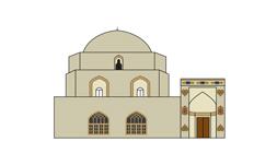 وکتور مسجد جامع ارومیه 1
