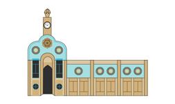وکتور مسجد سردار ارومیه 1